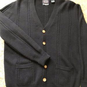 Vtg Allen Solly Navy Cardigan